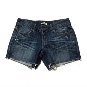 Heritage 1981 Cut Off Shorts Sz 5 Denim Blue